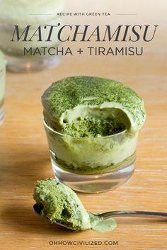 Matcha Green Tea Tiramisu Step-by-Step Recipe