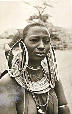 Masai Woman, East Africa