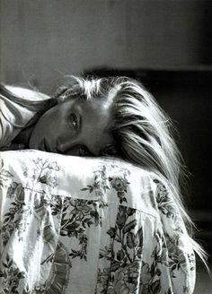 """""""If It's Love""""   Vogue Russia, April 1999   photographer: Mikael Jansson   Esther Cañadas"""