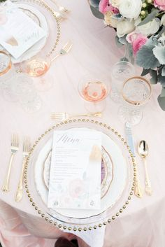 pretty blush table s