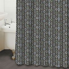 Famous Home Fashions Chain Shower Curtain