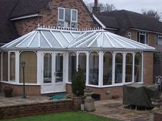 Transform your conservatory with a Tiled Roof Replacement from Abbey & Burton Glass. Warm Roof, Roofing Systems, Conservatory, Gazebo, Outdoor Structures, Gallery, Kiosk, Roof Rack, Winter Garden