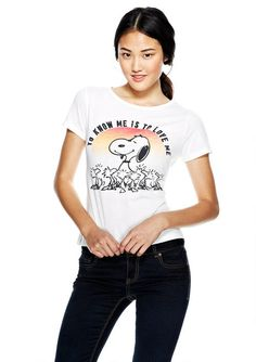 Show your Snoopy spirit with t-shirts from Delia's. Start shopping at CollectPeanuts.com and support our site!
