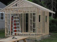 Custom Design Shed Plans, 6x8 Gable Storage, DIY ...