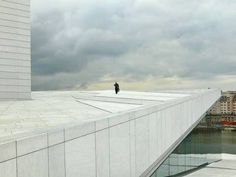 Roof of Oslo Opera House