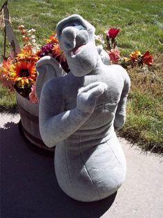 Halloween Decor SCARY haunted PLUSH Gargoyle Hunchback Halloween HUGO disney  #Disney
