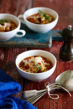 Pasta & Beans Soup