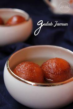 Gulab Jamun Using Milk Powder | Easy Gulab Jamun Recipe