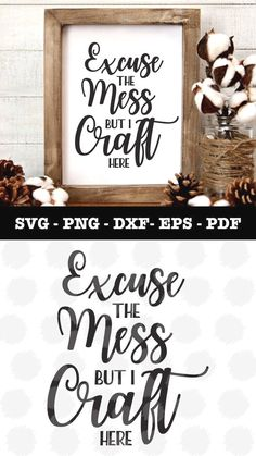 Craft Here Svg file for Cricut and Silhouette in my Etsy shop! Wine Bottle Crafts, Mason Jar Crafts, Mason Jar Diy, Do It Yourself Decoration, Cuadros Diy, Ideas Para Organizar, Craft Quotes, Quote Crafts, Painted Mason Jars