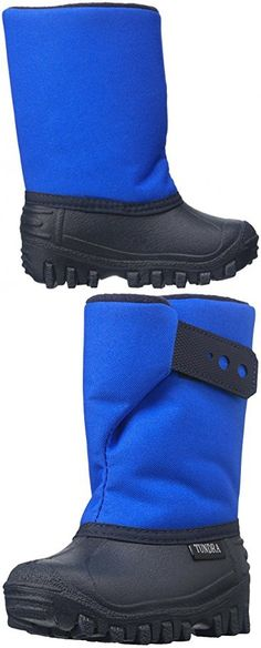 Tundra Unisex Teddy Winter boot (Infant/Toddler/Little Kid), Royal, 9 M US Toddler
