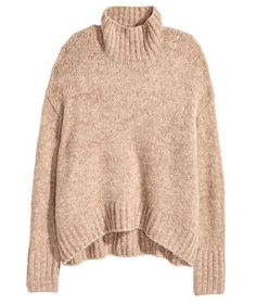 H&M Knit Turtleneck Sweater | Winter may be coming, but that's no reason to despair. Snuggle up to cooler weather with one of these warm picks.