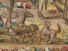 "Designed by Pieter Coecke van Aelst (Netherlandish, 1502–1550). Seven Deadly Sins: Pride tapestry (detail), designed ca. 1532 - 1534, woven ca. 1542 - 1544. Woven under the direction of Willem de Pannemaker, Brussels. Patrimonio Nacional | This work is featured in ""Grand Design: Pieter Coecke van Aelst and Renaissance Tapestry,"" on view October 8, 2014–January 11, 2015. #Coecke #tapestrytuesday #granddesign"