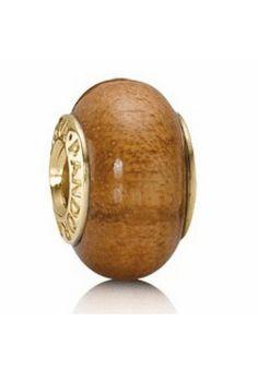 Pandora Wood Bead Brown Muiracatiara Description >> $38.00