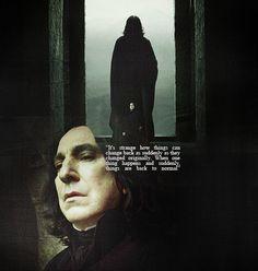 Tragic hero Severus Snape