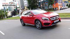 Mercedes-Benz GLA250 chega ao Brasil - NoticiasAutomotivas.com.br