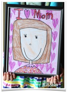 Mother's Day Activities and Ideas  | from First Grade Blue Skies