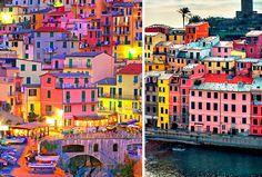 Cidades coloridas: Cinque Terre, Itália