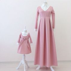 Super Baby Girl Outfits Mommy And Me Ideas Mommy And Me Dresses, Mom Dress, Girls Dresses, Mother Daughter Fashion, Dress Anak, Modele Hijab, Modern Hijab Fashion, Baby Girl Dress Patterns, Country Dresses