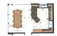 kitchen floor plans with islands | kitchen floorplan 3