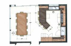 kitchen floor plans with islands   kitchen floorplan 3