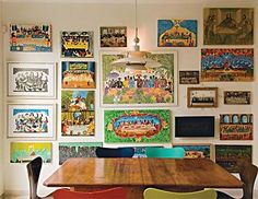 creative wall art ideas « Spearmint Decor