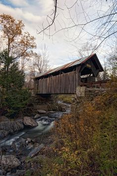 Emily's (haunted) Bridge, Stowe, Vermont--My favorite bridge because it was the name of my granddaughter.