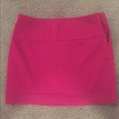 Dark Red Skirt Express dark red skirt. 99% cotton, 1% spandex to fit slim to your hips! Perfect for a night out or a business professional outfit! Express Skirts