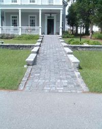 Aesthetically pleasing Wheelchair ramps to the front door. Believe i… - front yard landscaping ideas entryway