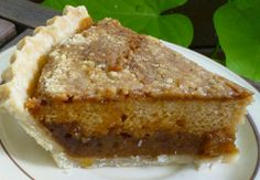 Shoo fly pie— never had it but it looks good. Might have to try this one out :)