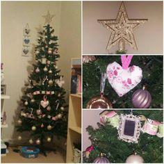 my shabbychic Christmas tree
