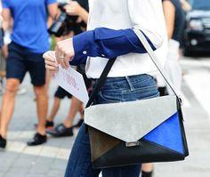 Fancy - Multicolor Diamond Bag by Celine