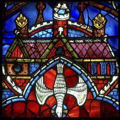 Panel 23 - The Holy Spirit descending from the Celestial City