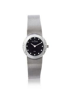 Skagen Women's O689SSSB Silver/Black Stainless Steel Watch, http://www.myhabit.com/redirect/ref=qd_sw_dp_pi_li?url=http%3A%2F%2Fwww.myhabit.com%2Fdp%2FB005O24QWC
