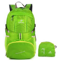 SymbolLife Outdoor Ultra-light Water-repellent 35L Packable Handy Lightweight Travel Backpack Daypack for Camping Hiking Trekking Mountain Climbing >> Remarkable product available now. : Backpacking gear