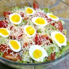 Diet Recipes, Healthy Recipes, Healthy Salads, Cobb Salad, Nom Nom, Food And Drink, Low Carb, Baking, Breakfast