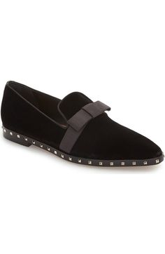 Valentino Studded Soul Loafer (Women) available at  Nordstrom Scarpe Nere 9aaf43dbbe0