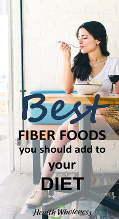 Fiber is an essential carbohydrate that your body needs to keep your bodily functions working correctly. While most carbohydrates are quickly broken down by your digestive system into sugar, Fiber passes through the body undigested. Fiber is excellent as it helps regulate the body's sugar levels. This is essentially one of the best foods to overload in when you are dieting as it keeps your hunger pangs abated. #fiberfoods #loseweight #fiberfoodrecipes #healthyliving #diet