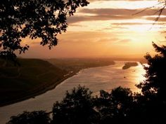 How beautiful are Amarula sunsets? This photograph was taken in Bingen, Germany, where one of Amarula's international offices is located. See more stunning sunsets here - www.greatestsunsets.com