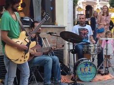 Hot Nasho and Himself Orchestra playing Casco Antiguo Marbella Old Town, Orchestra, Beautiful Places, Hot, Band
