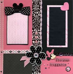 Silly Bees Chickadees Gallery: Minnie Hot Pink and Black Right Page