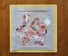 Hop to it and make a bunny rabbit quilt block just in time for Easter! Our step-by-step tutorial makes it easy to create your own.