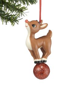 4254951194513 Rudolph the Red-Nosed Reindeer Rudolph the Red-Nosed Reindeer Light-Up  Ornament