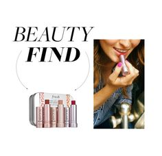 """Beauty Find: Fresh Mini Kissing Trio"" by polyvore-editorial ❤ liked on Polyvore featuring beauty, Fresh and beautyfind"