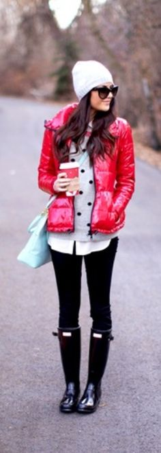Cute winter look...even though I don't really need winter looks....