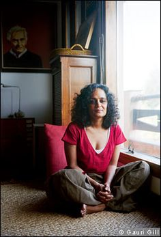 As a young girl, Arundhati Roy once raided her teacher's garden in her native village in Kerala, the lush tropical state in the south of India. She dug up the carrots, removed the edible orange roots, then carefully replanted the green tops in the Dug Up, People Icon, Small Things, Powerful Women, Celebrity Crush, Authors, Muse, Writer, January