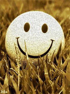 SILVER GLITTER SMILEY