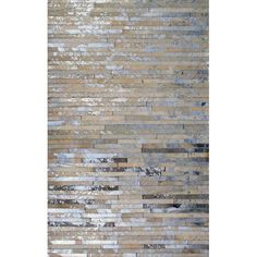 all modern|  patchwork faded animal hyde rug. Obsessed with the color scheme