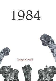 George Orwell Book Cover Designs by Wyn Merchant, via Behance
