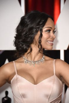 Try Zoe Saldana's hairstyle next wedding. 14 ways to style your hair for every nuptial on your docket so you never wear the same 'do.