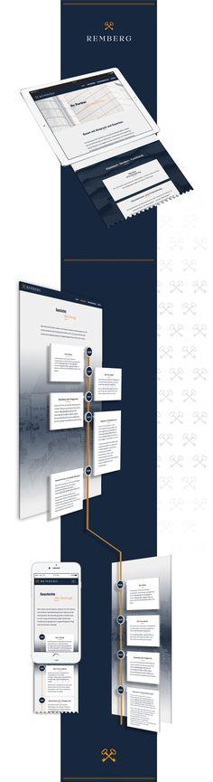 Webdesign und visuelle Kommunikation für die Marke Remberg #rebranding #markenkommunikation #webdesign #logodesign